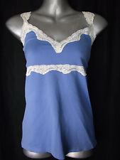 BNWT Womens Sz 16-18 Bella B Wear Designer Label Blue Lace Trim Camisole RRP $50