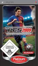 Pro Evolution Soccer 2009 / PES 2009 - Sony PSP - USK 0 - NEUWARE / OVP