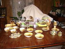 lot of Noritake sets,creamer,sugar,pitcher,jam,relish,basket,cup ,etc...