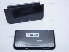 Nintendo New 3 ds XL Shell Top Only Black Metallic & Lines 2015+ CASE/Housing Kit