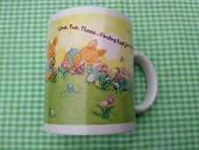 Cute Easter Mug Bunnies Finding Eggs Hallmark Licensing for Houston Harvest