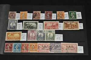 Syria Mint & Used on Stockcard, 99p Start
