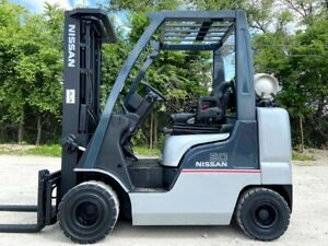 2014 NISSAN MAP1F2A25LV 5000LB CAPACITY NOMAD  PNEUMATIC TIRE  COMPACT FORKLIFT