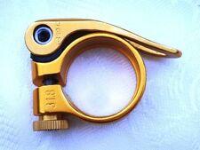 Composants et pièces de vélo dorés en aluminium