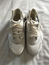 Nike Huarache Boys / Girls White Trainers Size UK 4.5 , EUR 37.5