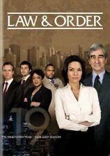 Law & Order The Nineteenth Year R1 DVD Season 19