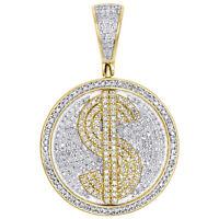 Medium Rond Diamond Cut Nugget Boucles D/'Oreilles Clou Véritable 10K solide or jaune