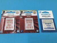 20 SCHMETZ - ORGAN Nadeln-Stärke 70-100 Jersey + Universal Nähmaschinen Nadel