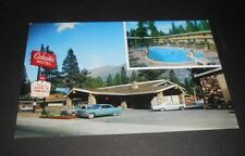 Vintage  Postcard Cabana Motel So Lake Tahoe US 50
