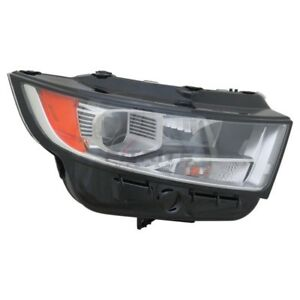 NEW RIGHT HALOGEN HEADLIGHT ASSEMBLY FOR 2015-2018 FORD EDGE FO2503341