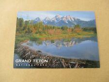 Grand Teton National Park Postcard, Posted Rock Springs 27th September 2010