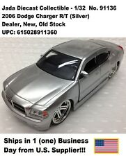 2006 Dodge Charger No. 91136 1:32 Diecast Collectible-1pc Silver No Box- New