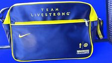 Nike Team Livestrong Duffle Bag Shoulder Sports Duffel Lance Armstrong cycling