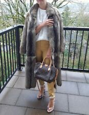 PN Pelze Noltensmeyer Real Fox fur long coat sz S