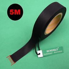 5m Seam Sealing Tape 25mm Iron on Hot Melt 3 Layer Waterproof Fabrics Black