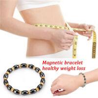 Magnetisches Armband, Perlen, Hämatit-Stein-Therapie, Gesundheitswesen, Fra MD