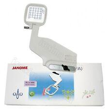 "JANOME Embroidery FA Hoop MC11000 Elna Sewing Machine 2x2"" 5x5cm Memory Craft"