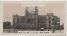 Palace of Justice Transvaal Judiciary Pretoria South Africa 1920s Trade Ad Card