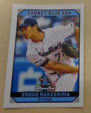 Shogo Nakashima 2018/19 Aussie Baseball League-Yakult Swallows - Sydney Blue Sox