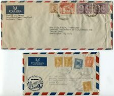 IRAQ Airmail Stamps Postage Middle East Cover Collection Baghdad