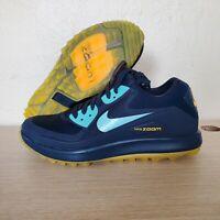 Nike Air Zoom 90 IT Golf Shoes Navy Aqua Blue Lazer Orange SZ ( 844569-400 )