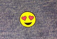 Heart Eyes Emoji Enamel Pin, High Quality