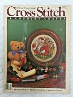 Cross Stitch /& Country Crafts Magazine 36 Patterns Projects Dec 1988 Christmas