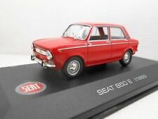 COCHE SEAT 850 E 4 PUERTAS (1966) IXO ALTAYA 1/43 1:43 MINIATURA CAR MODEL alfre