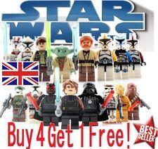 Star Wars CUSTOM Lego Mini Figures Building Jedi Sith Marvel UK FAST Party Bag