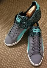 PUMA MMQ Athletic Men's Shoes Gray & Sea Green Size 12M 12 M