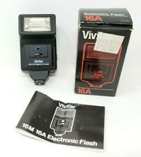 Vivitar 16A Automatic Flash Vintage In Original Box 1992 231190