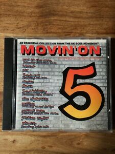 Movin' On 5 - Various Artists (CD 1993) Rumour Records