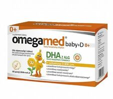 Omegamed Baby + D 0+, 60 capsules