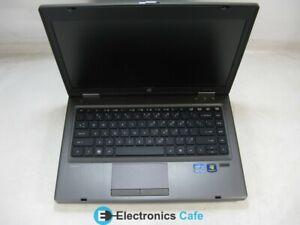 "HP ProBook 6460b 14"" Laptop 2.5 GHz i5-2520M 4GB RAM Grade C No Battery, Webcam"