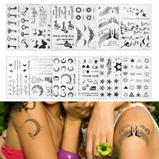 Temporary Tattoos Sticker Waterproof Body Art Fashion Cool Symbols US Seller