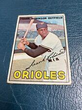 1967 Topps Frank Robinson Baltimore Orioles #100 Baseball Rookie Card