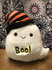 """Squishmallows-Grace the Ghost-Halloween Collection-8""""-NWT"""
