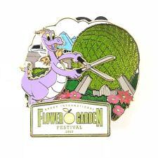 Figment Epcot Flower and Garden Festival Annual Passholder Disney Pin