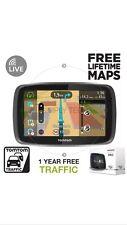 Tomtom Pro 5250 camión ambiente Camión GPS SAT NAV Mapas Gratis De Por Vida Reino Unido y Europa
