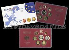 GERMANIA 2003 - ZECCA A BERLINO - SERIE DIVISIONALE 8 MONETE EURO - PROOF