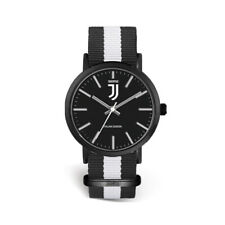 JUVENTUS orologio uomo solo tempo Prodotto ufficiale quadrante bianconero Juve