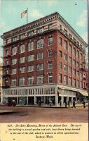 Postcard The Eiler Building, Home of the Inland Club Spokane Washington~135369