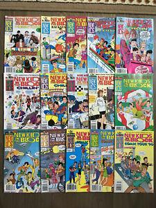 NEW KIDS ON THE BLOCK COMIC LOT 15 ISSUES HARVEY COMICS NKOTB