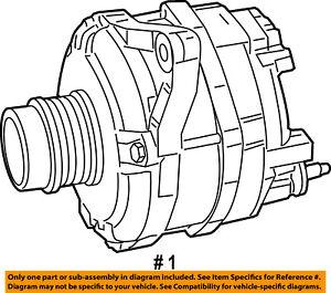 Jeep CHRYSLER OEM 07-17 Compass 2.4L-L4-Alternator R4801477AA