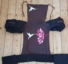 Melkaj Mei Tai Reversable Baby Sling. Unique, Stunning Hummingbird Design