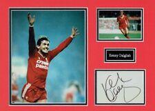 Kenny DALGLISH Liverpool Legend Signed & Mounted Card Display AFTAL COA