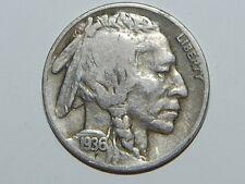 1936 D Buffalo Nickel Nice Coin  Lot # 466