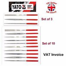 Yato Professional Diamond Needle File Set of 3 or 10 pcs YT-6143 YT-6144