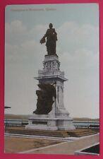 ANTIQUE POSTCARD-CHAMPLAIN'S MONUMENT-QUEBEC CANADA