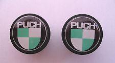 Puch handlebar bike caps, PUCH Bike frame logo end plugs, Puch bike caps
